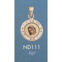 Medalla Oro Virgen De Guadalupe Bautizo Cumpleaños Dama