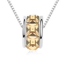 Collar Around Hecho Con Cristales Swarovski® Elements