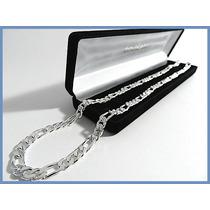 Elegante Cadena Plata Solida Mod. Cartier Gruesa 70grs Acc