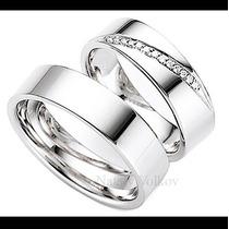 Argollas De Matrimonio Mod. Ferrand Oro 14k Matrimoniales
