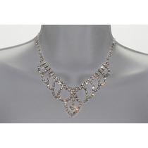 Conjunto Elegante, Collar, Aretes, Pulsera Y Anillo Ce122