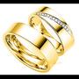 Argollas De Matrimonio Mod. Ferrand En Oro 14k Matrimoniales