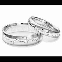 Argollas De Matrimonio Mod. Cardio Oro 10k Matrimoniales