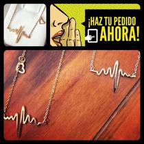 Collar Electrocardiograma Ekg Heartbeat