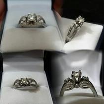Anillo Compromiso 0.65 Kilates Diamante Oro 14k Envio Gratis