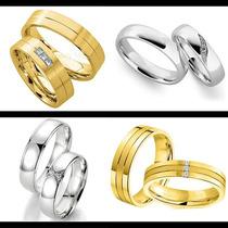Argollas Matrimoniales En Oro Solido De 14k Modelos A Elegir