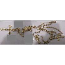 Bonitos Rosarios De Oro Laminado De 14k