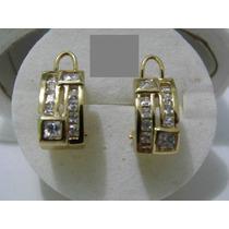 Preciosos Aretes De Oro Laminado De 14k Varios Modelos