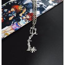 Collar De Metal Del Juego Kingdom Hearts Roxas Sora C