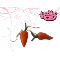 Aretes Kawaii Diferentes Con Formas Divertidas (zanahorias)