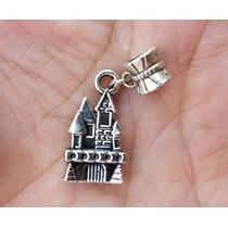 Castillo 1 Precioso Dije De Plata Tibetana 0325