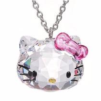 Dije Hello Kitty Con Element Swarovsk Regalo Excelente Caja