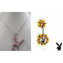 San Valentin * Playboy * Collar Y Piercing X $200