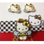 Hello Kitty Juego De Collar Y Aretes Swarovsky Original
