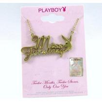 Collar * Playboy * Miss February Original