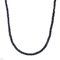 Collar De Plata Con Zafiros