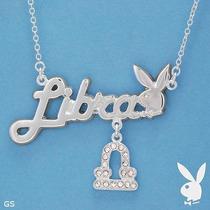 Collar * Playboy * Zodiaco Libra - Original Vmj