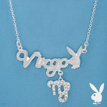 Collar * Playboy * Zodiaco Virgo - 100% Original Vmj