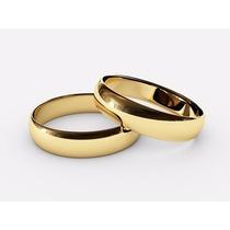 Argollas De Matrimonio Plata, Oro 24k, Cartier-lisas, $xpar!