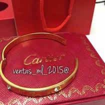 Brazalete Love Cartier Love Con Diamantes