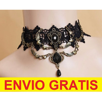 Collar Gargantilla Sexy Estilo Gotico Envio Gratis