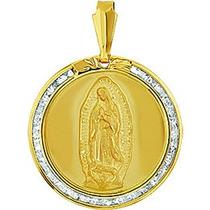 Medalla Oro Solido Virgen De Guadalupe Excelente Regalo