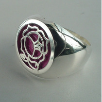 Anillo Utena Revolutionary Girl Plata Metallicraft Hm4