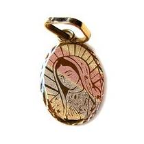 Medalla De Oro 10 Kilates Virgen De Gpe. Grabado Làser.