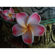 Collar En Shakira Con Flores De Colores