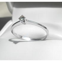 Hermoso Diamante Natural Montado En Anillo 14k Envio Gratis