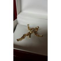 Cristo Con Brillantes, Hermoso Diseño Especial Y Exclusivo.