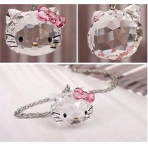 Regalo Dije Hello Kitty Swarovski Element Con Cajita De Rega