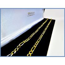 Cadena Oro Amarillo Solido 10k Mod. Cartier De 3mm 9.5gr