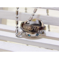 Collar Doble Anillo Giratorio Anime Naruto