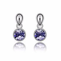Aretes Raindrops Hecho Con Cristales Swarovski® Elements