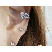 Arete Moda, Piercing Sin Perforación, Ear Cuff,