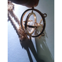 Collar De Harry Potter Hermione Giratiempo Reloj De Arena