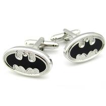 Mancuernillas Batman Logo Superheroes Acero Camisa Gemelos