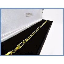 Pulsera Oro Amarillo Solido 14k Mod. Cartier De 4mm 5grs Acc