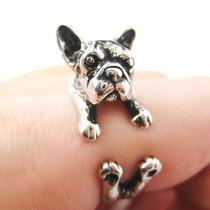 Anillo Perro Bull Dog Francés