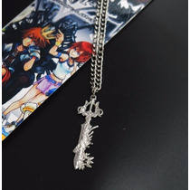 Collar De Metal Del Juego Kingdom Hearts Roxas Sora D