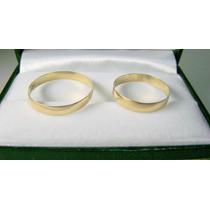 Argollas De Matrimonio Oro Amarillo 10k Envio Express Gratis