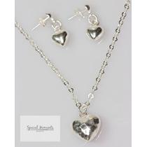 Collar De Corazón De Plata .925 - Gossip Collection + Cadena