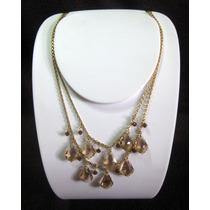 Collar De Fantasia Con Crystales Swarovski