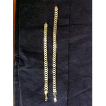 Pulsera Tipo Rolex En Chapa De Oro De 14 Kilates