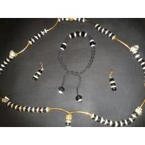 Collar De La Santa Muerte Chapa De Oro 18k