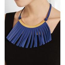 Zara De Uterque Bisuteria Collar Rebaja Nuevo De Piel