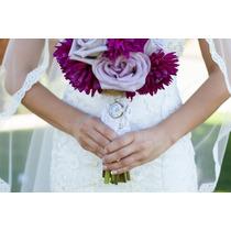 Relicarios/locket Bouquet Novio/ramo De Novia