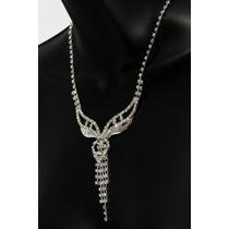 Conjunto Elegante, Collar, Aretes, Pulsera Y Anillo Ce106