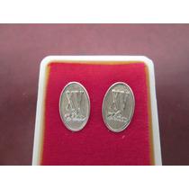 Aretes Quinceañera En Oro De 10 Kilates